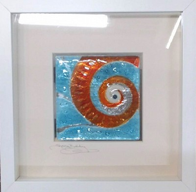 Fused Glass Shell